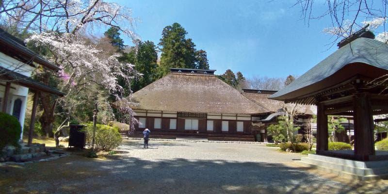 広徳寺の境内を歩く