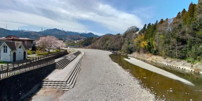 秋川橋からの眺め