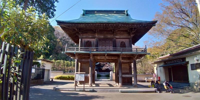 国分寺楼門の立派な様子
