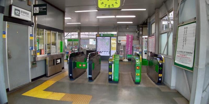 東青梅駅の改札