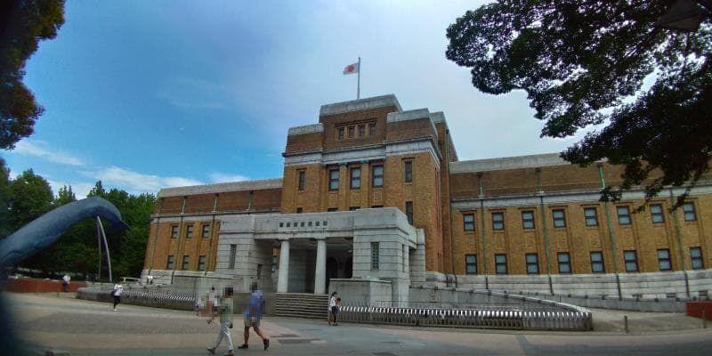 国立科学博物館の外観