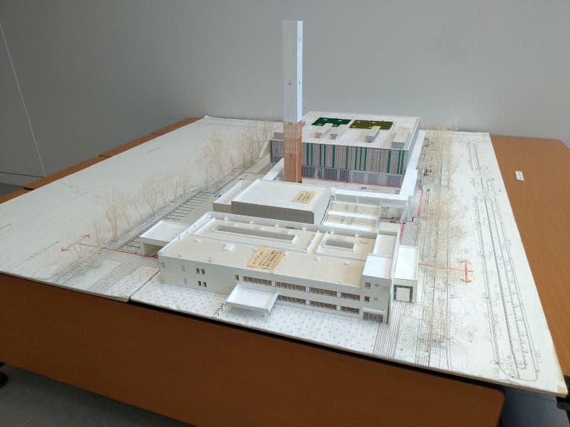 武蔵野クリーンセンターの模型