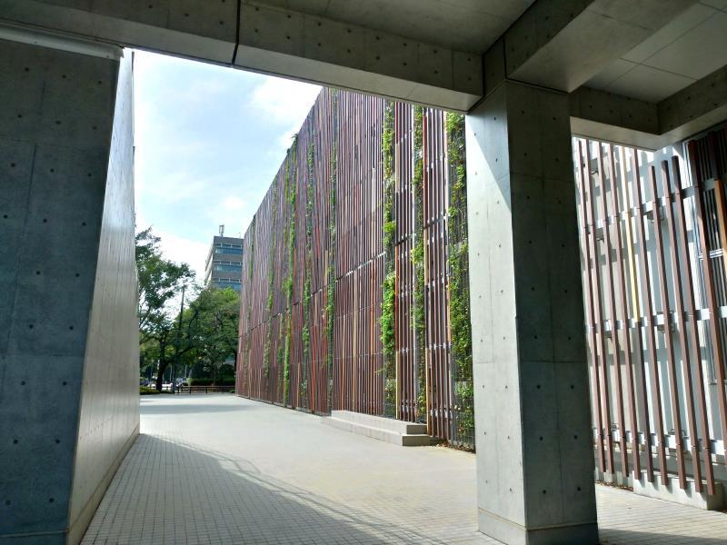 植物の壁を取り入れたオシャレな壁面