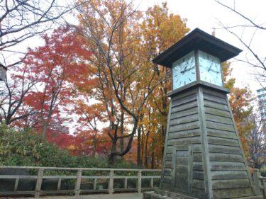飛鳥山公園の紅葉2019